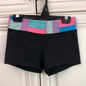 Ivivva by Lululemon girls reversible shorts 🍋